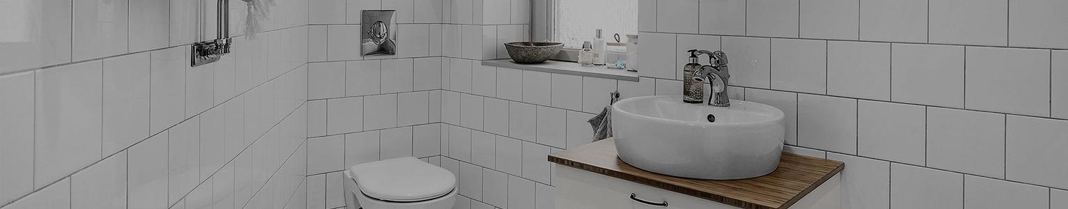 scandinavian tiled bathroom
